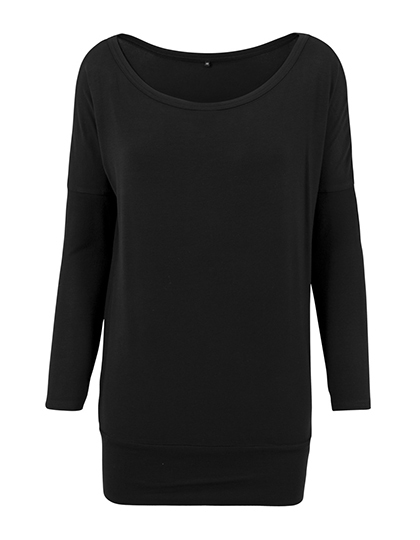 LSHOP Ladies Viscose Longsleeve Black