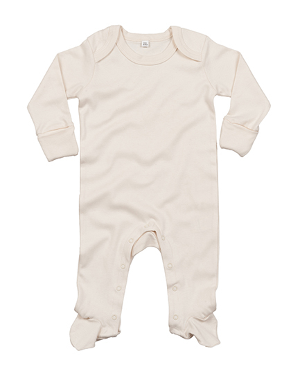 LSHOP Baby Organic Sleepsuit with Scratch Mitts