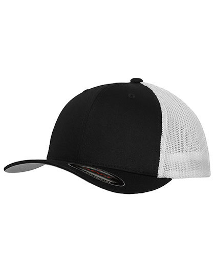 LSHOP Mesh Trucker 2-Tone Cap Black,Buck,Dark Grey,Khaki,Navy,Pink,Red,Royal,Silver