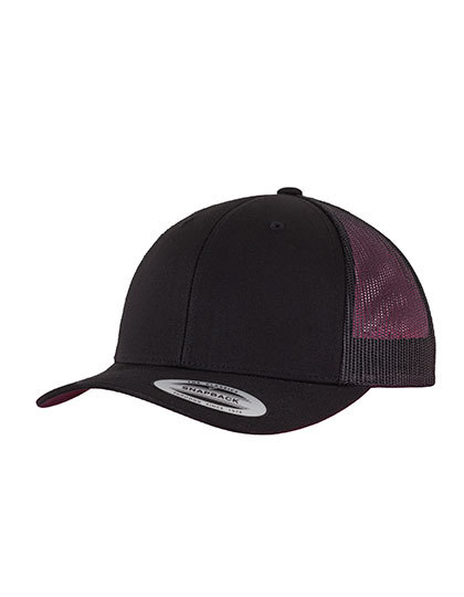 LSHOP Retro Trucker Black,Buck,Dark Grey,Khaki,Maroon,Navy,Red,Silver,White