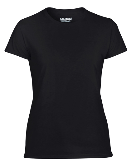 LSHOP Performance¨ Ladies« T-Shirt Black,Carolina Blue,Charcoal (Solid),Navy,Purple,Red,Royal,Safety Green,Safety Pink,Sport Grey (Heather),White