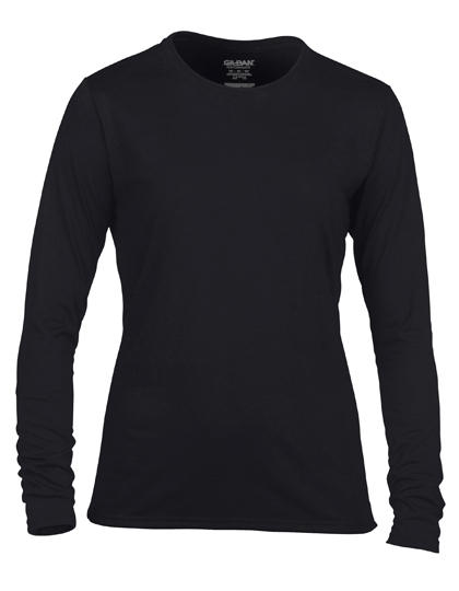 LSHOP Performance¨ Ladies« Long Sleeve T-Shirt Black,Navy,Red,Royal,Sport Grey (Heather),White