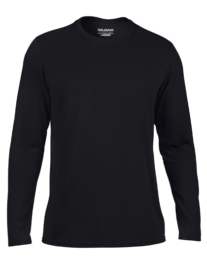 LSHOP Performance¨ Long Sleeve T-Shirt Black,Navy,Red,Royal,Sport Grey (Heather),White