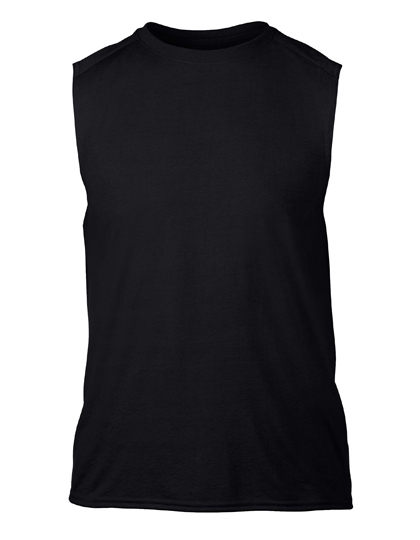 LSHOP Performance¨ Sleeveless T-Shirt Black,Navy,Red,Royal,Sport Grey (Heather),White