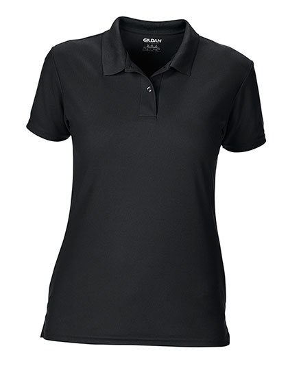 LSHOP Performance¨ Ladies« Double PiquŽ Polo Black,Charcoal (Solid),Forest Green,Maroon,Navy,Red,Royal,Sapphire,White