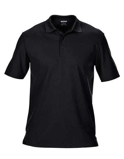 LSHOP Performance¨ Double PiquŽ Polo Black,Charcoal (Solid),Forest Green,Maroon,Navy,Red,Royal,Sapphire,White