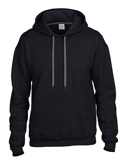 LSHOP Premium Cotton¨ Hooded Sweatshirt Black,Charcoal (Solid),Navy,Red,Sapphire,Sport Grey (Heather),White