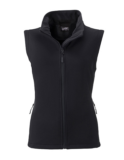 LSHOP Ladies` Promo Softshell Vest Black,Green,Iron Grey,Nauticblue,Navy,Red,White