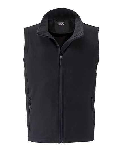 LSHOP Men`s Promo Softshell Vest Black,Green,Iron Grey,Nauticblue,Navy,Red,White