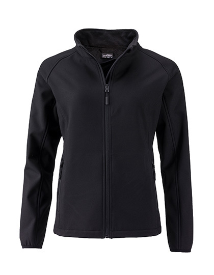 LSHOP Ladies` Promo Softshell Jacket Black,Green,Iron Grey,Nauticblue,Navy,Red,White