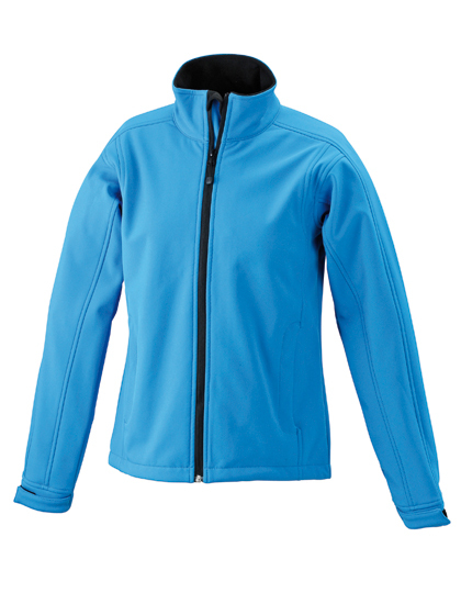 LSHOP Ladies« Softshell Jacket Aqua,Black,Brown,Carbon,Navy,Off-White,Olive,Pop-Orange,Red