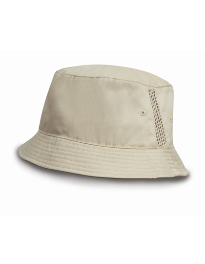 LSHOP Washed Cotton Bucket Hat