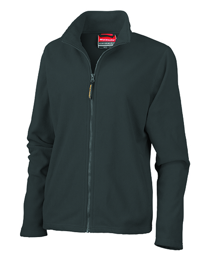 LSHOP Womens Horizon Micro Fleece Jacket Black,Cardinal Red,Dove Grey,Navy