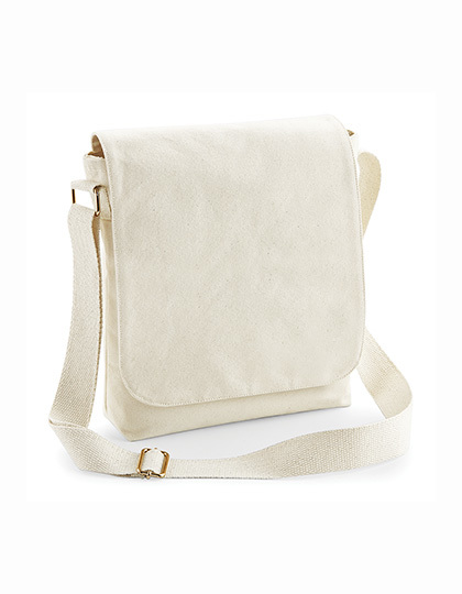 LSHOP Fairtrade Cotton Canvas Midi Messenger
