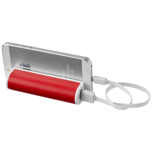 PF Stuck on You Powerbank 2200 mAh mit Saugnapf rot