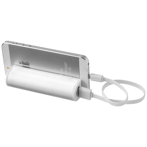 PF Stuck on You Powerbank 2200 mAh mit Saugnapf weiss