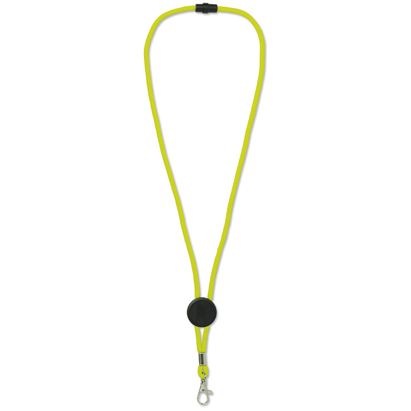 TOPPOINT Paracord Lanyard Neongelb